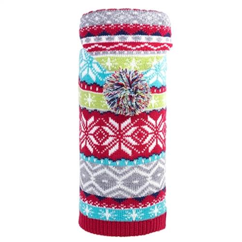 Hoodie Sweater for Dogs, Fairisle