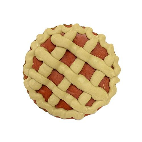 Cherry Pie Shaped Dog Cookies (Case of 12 Treats)