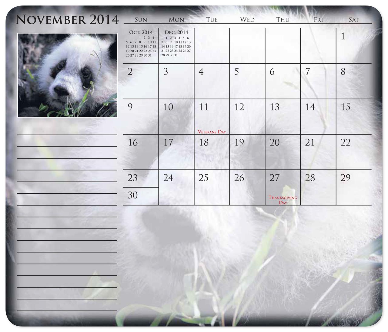 12 month calendar mouse pads custom print promotional calendars