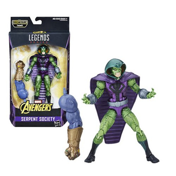 Avengers Marvel Legends Serpent Society Action Figure