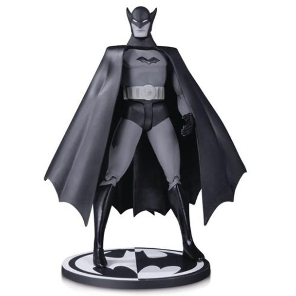 Batman Black and White 1st Appearance by Bob Kane Figure