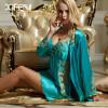 XIFENNI Brand Bathrobes Imitation Silk Robe Sets