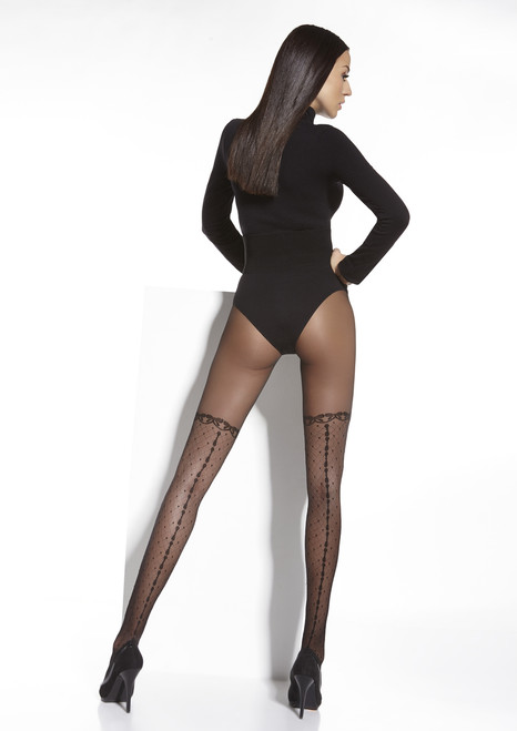 Chantel  Patterned Tights #36