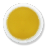 Honey Lemon Ginger loose leaf green tea brew from The Jasmine Pearl Tea Co.