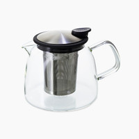 24-oz Bell glass teapot.