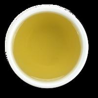 Organic chamomile flowers, brewed, from The Jasmine Pearl Tea Co.