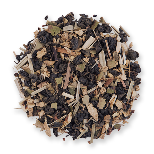 Honey Lemon Ginger loose leaf green tea from The Jasmine Pearl Tea Co.