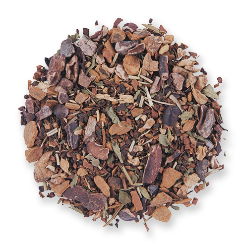 Dark Forest loose leaf herbal tea blend from The Jasmine Pearl Tea Co.