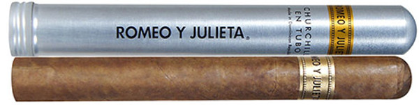 Romeo y Julieta 1875 Churchill en Tubos