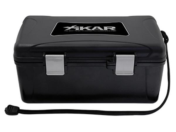 XIKAR Travel Humidors: Black - 15 Count