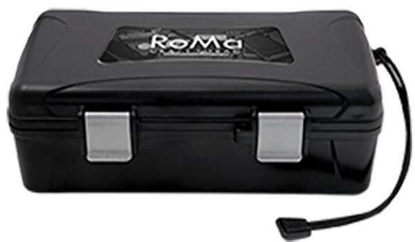 XIKAR Travel Humidors: RoMa Craft Black - 10 Count