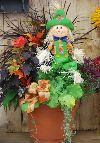 Decorative Fall Planter
