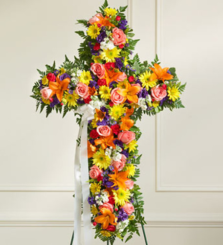 Cheerful Memories Standing Cross