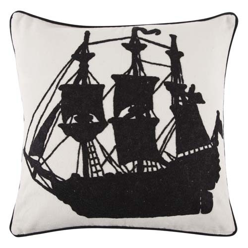 Buy Red Ship Sketch Toy Pillow Decorative Pillow