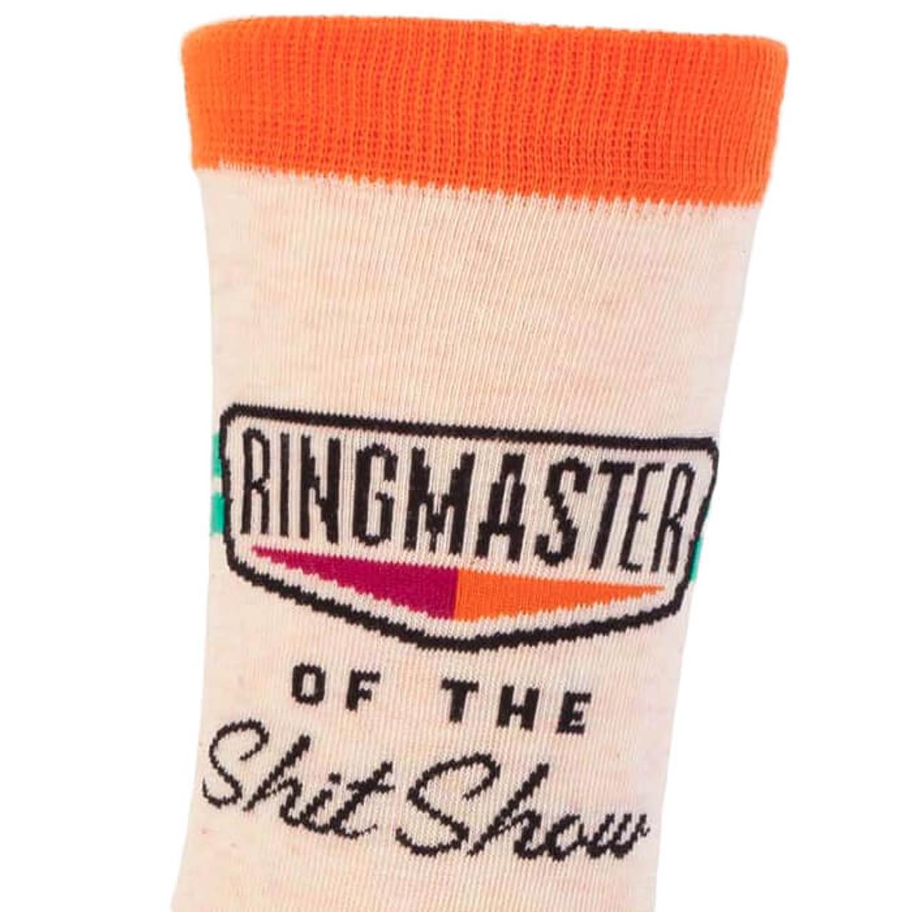 RINGMASTER OF THE SHIT SHOW SOCKS