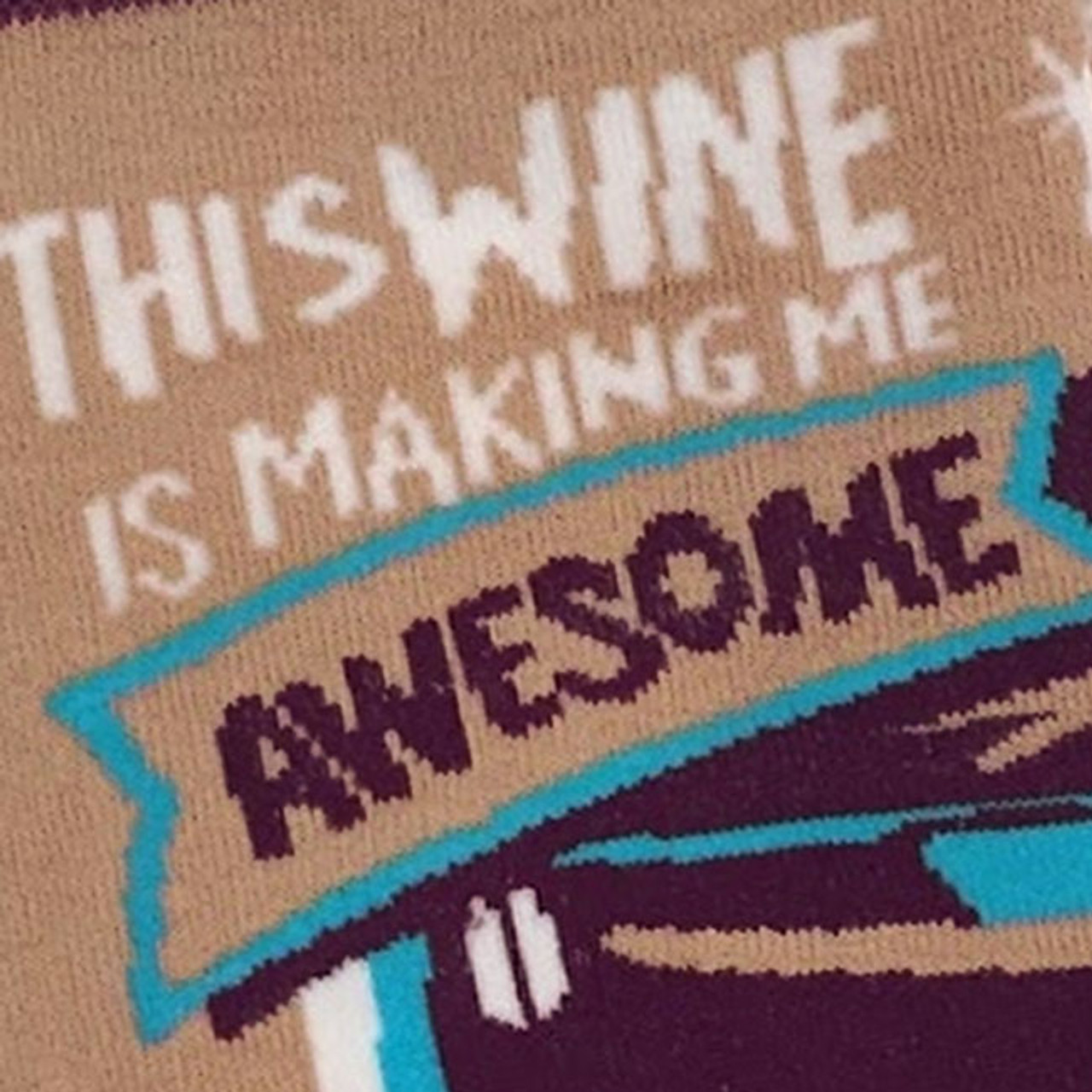 This Wine Is Making Me Awesome Socks