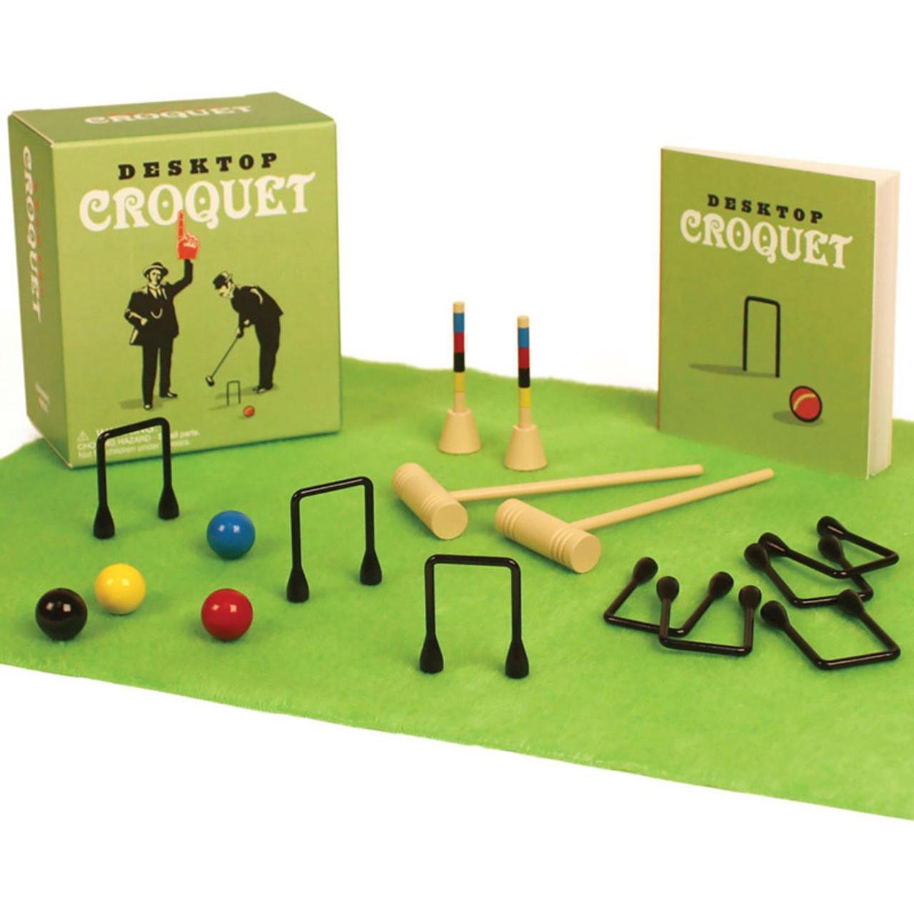 Mini Desktop Croquet Game