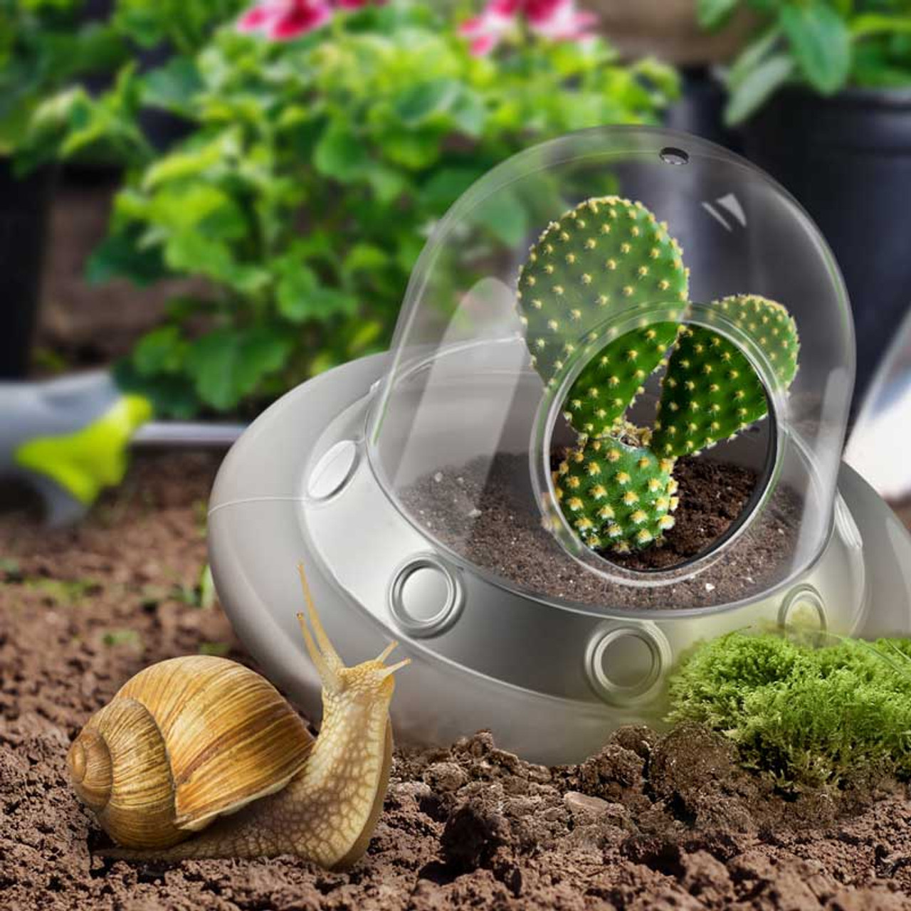 Purchase UFO Space Invader Air Planter