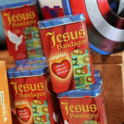 Jesus Bandages make a great stocking stuffer!