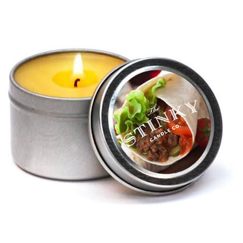 Burrito Scented Candle