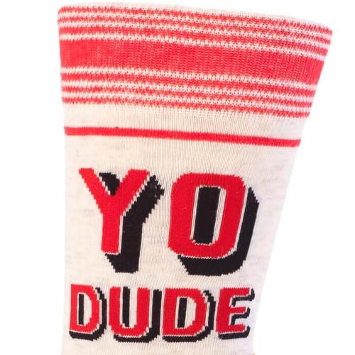 YO DUDE, PUT SOME PANTS ON! MEN'S SOCKS