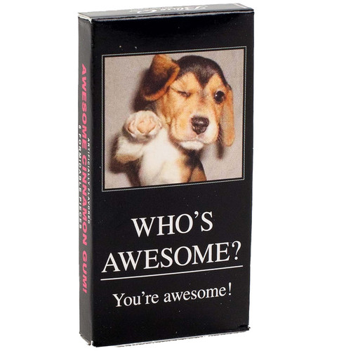 Who's Awesome? You're Awesome! Gum