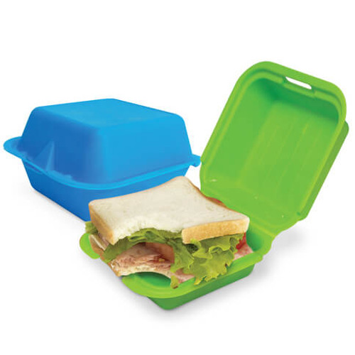 FAUX-REAL FAST FOOD SANDWICH BOX