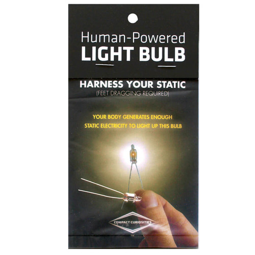 Human Powered Light Bulb