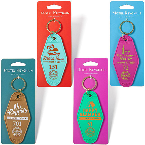 Motel Key Rings