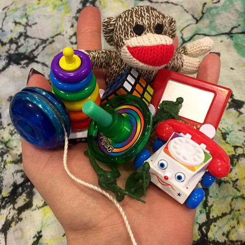 COLLECT TWORLD'S SMALLEST FISHER-PRICE CHATTER PHONEHEM ALL!