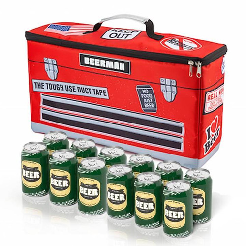 Handyman Toolbox Beverage Cooler