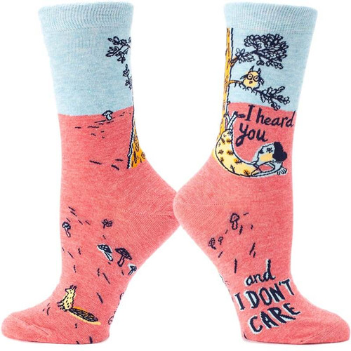 I Heard You and I Don't Care Socks