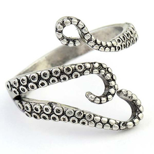 Affectionate Octopus Ring