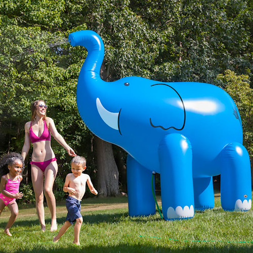 Giant Elephant Yard Sprinkler
