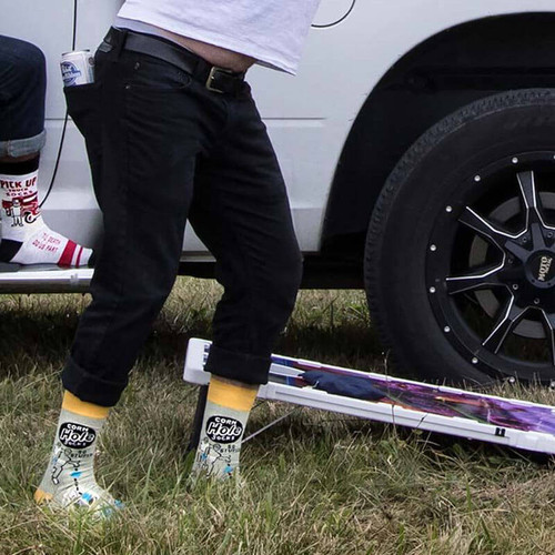 BlueQ Cornhole Men's Socks