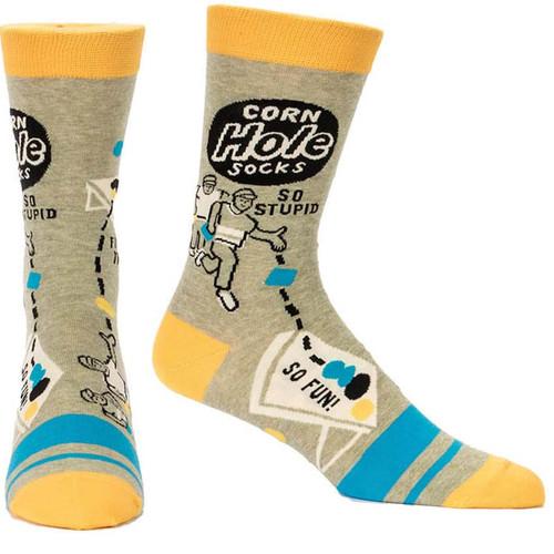 Blue Q Cornhole Men's Socks