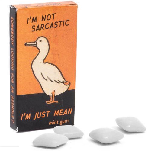 BlueQ I'm Not Sarcastic, I'm Just Mean Gum