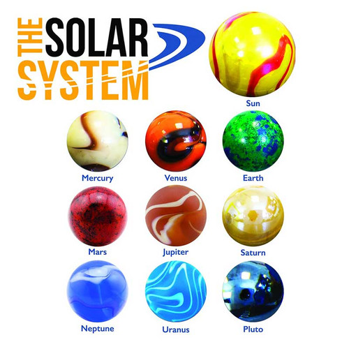 Solar System Marbles