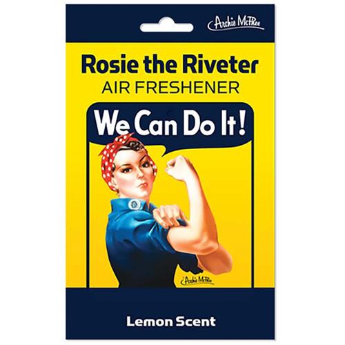Rosie the Riveter Air Freshener