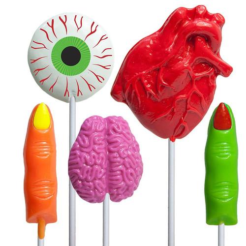 Body Part Halloween Lollipop
