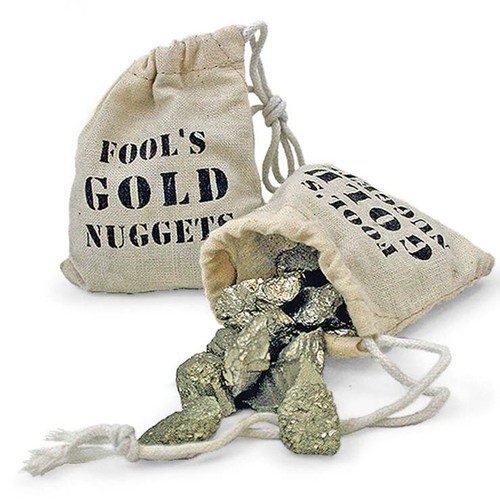 Bag of Fool's Gold Stocking Stuffer