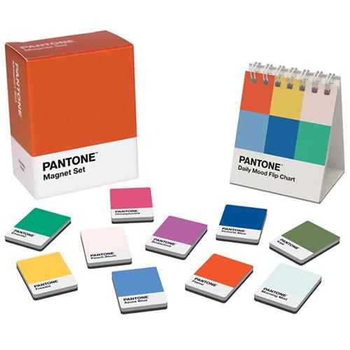 Pantone Magnet Set + Daily Mood Flip Chart