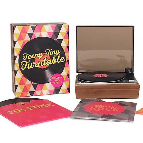Mini Record Player Turntable