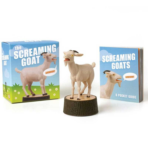 Funny Screaming Goat Gift