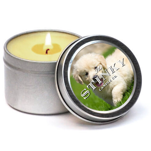 Clean Puppy Candle