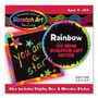 RAINBOW SCRATCH ART NOTES