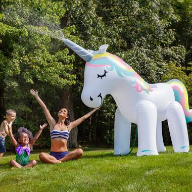 Big Mouth Ginormous Unicorn Yard Sprinkler Perpetual Kid