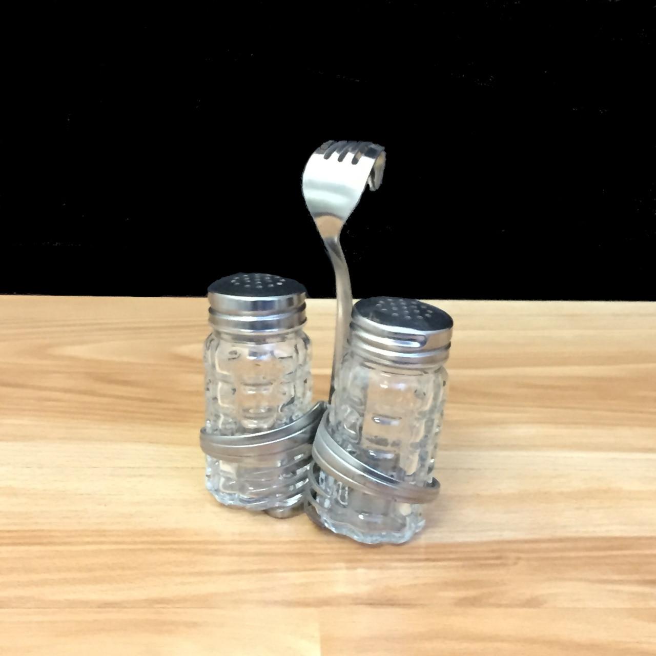 Favorite Salt & Pepper Caddy - Double Loop© - Forked Up Art WL63