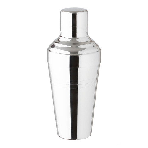 Yukiwa Stainless Steel Micro Bubble Baron Cobbler Cocktail Shaker 1000ml (33.8 oz)