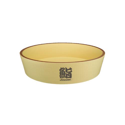 "Super Hygienic Plastic Hangiri Rice Barrel 23.5"" dia"